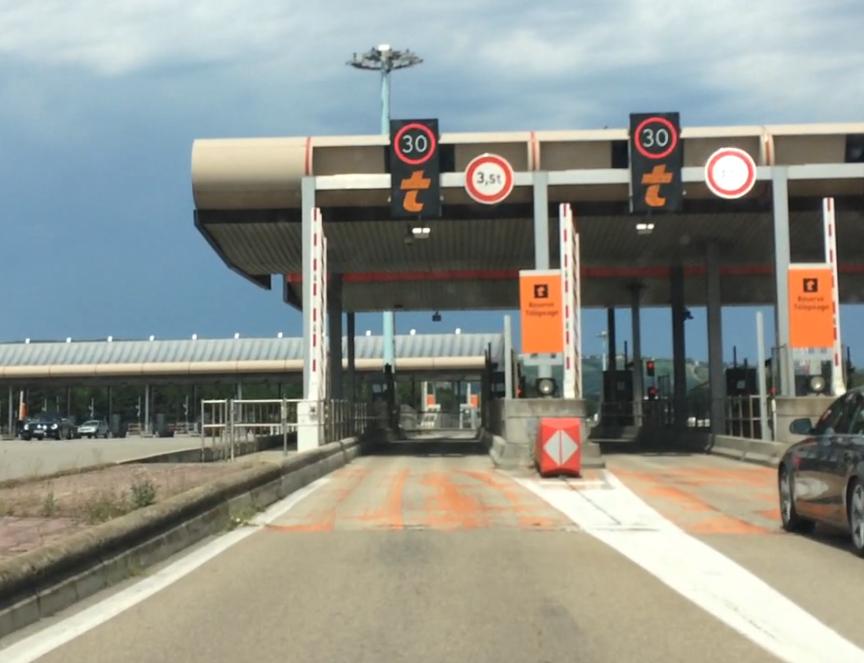 Mit der elektronischen Maut von BIPandGO über Frankreich nach Spanien