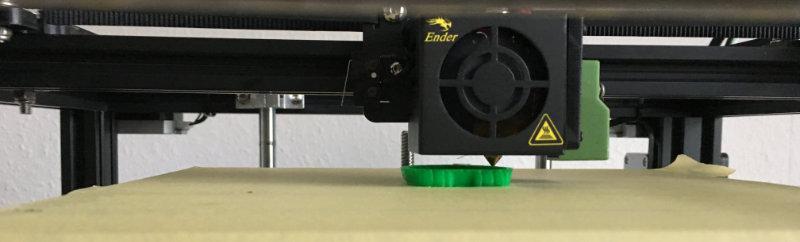 Das Abenteuer mit dem Creality Ender 4 – 3D Drucker beginnt