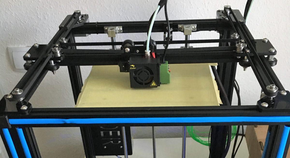 Aufbau des Creality Ender 4 – 3D-Drucker
