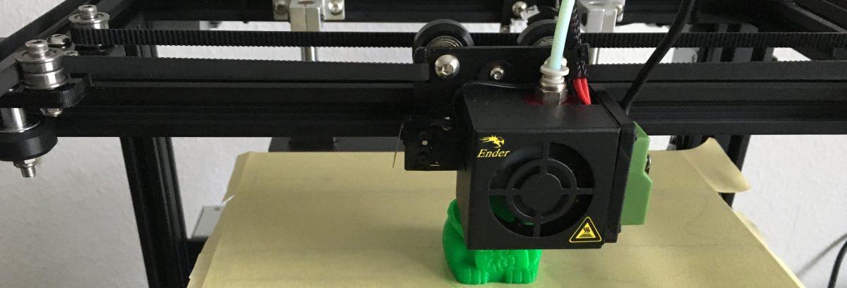 Erster Druck mit dem Creality Ender 4 – 3D-Drucker